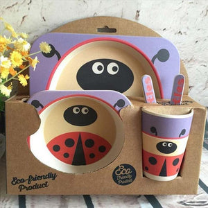 I Want It Baby Ladybug Eco-Friendly Kids Dining Set