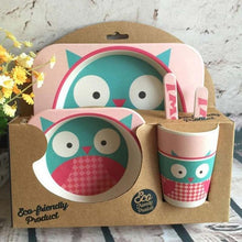 I Want It Baby Owl Eco-Friendly Kids Dining Set