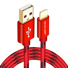 I Want It Gadget Red / 50cm Tough Braided iPhone Cable