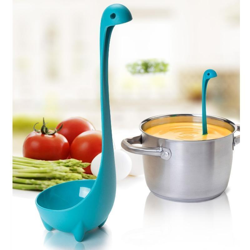I Want It Home Blue Nessie Ladle