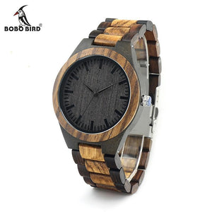 I Want It Jewelry BOBO BIRD V-D30 Gradient Zebra Watch