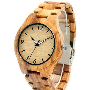 I Want It Jewelry Default Title BOBO BIRD V-G24 Zebra Mens Watch