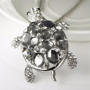 I Want It Jewelry Turtle Pendant Necklace