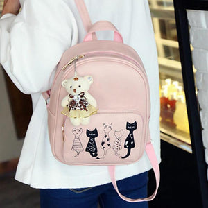 Cat Bag - 4 Piece Set