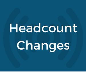 Investment Manager Head-Count Changes