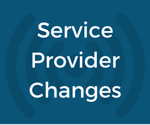 New Private Fund Service Provider Changes