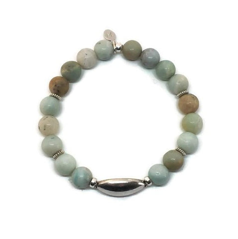 Genuine Amazonite Bracelet