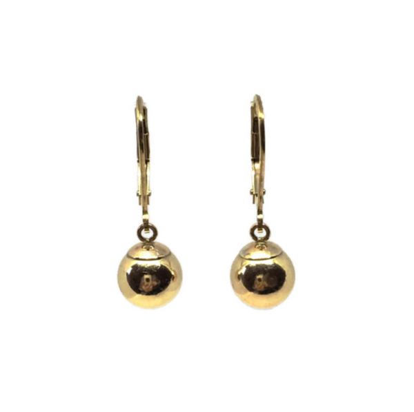 Classic Ball Earrings - Gold Filled
