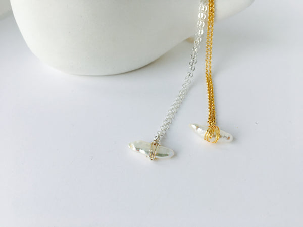 Biwi Pearl Necklace