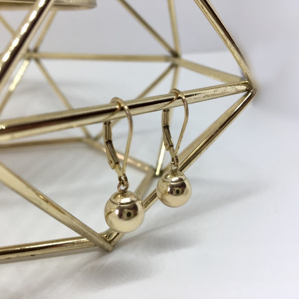 Gold Filled - Classic Ball Earrings