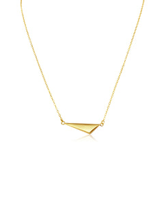 Geometric Gold Filled Necklace