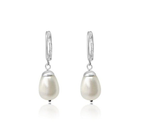 XL Baroque Pearl Earrings