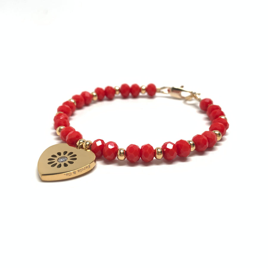 Pulsera True Love Cristal Rojo