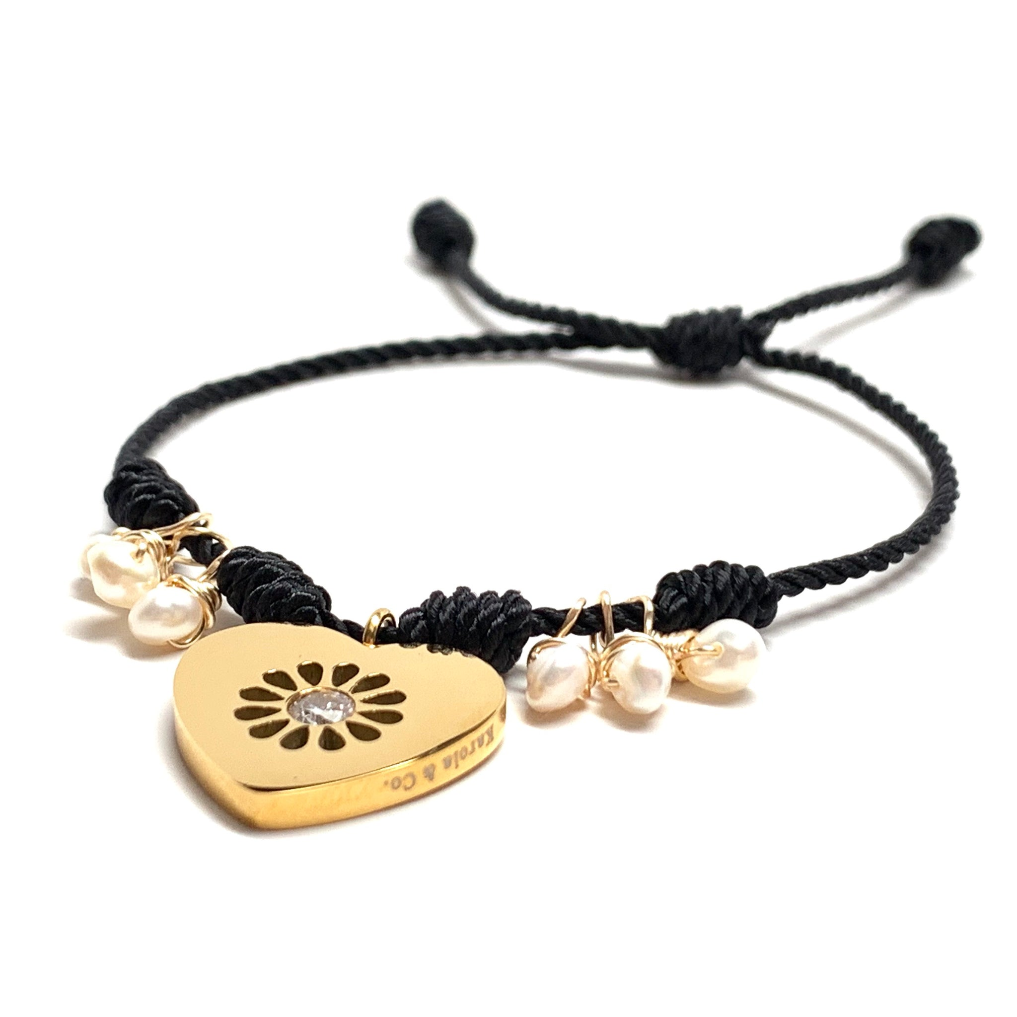 Pulsera True Love Negra