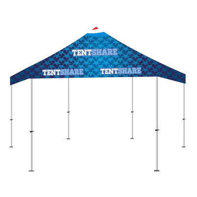 Popup Tent 20x20 Foot Hexagon Custom Canopy Builder