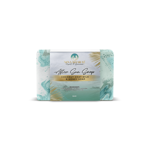 After-Sun Goat Milk & Honey Soap