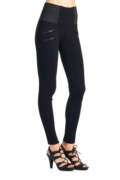 PP90 Ci Sono High Waist Leggings - FashionPosh.Com