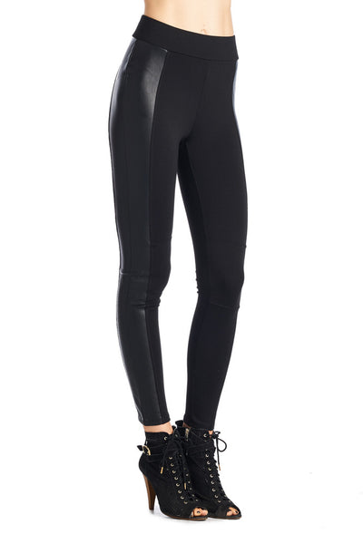 P9364 Ci Sono High Waist Leggings - Fashion Posh