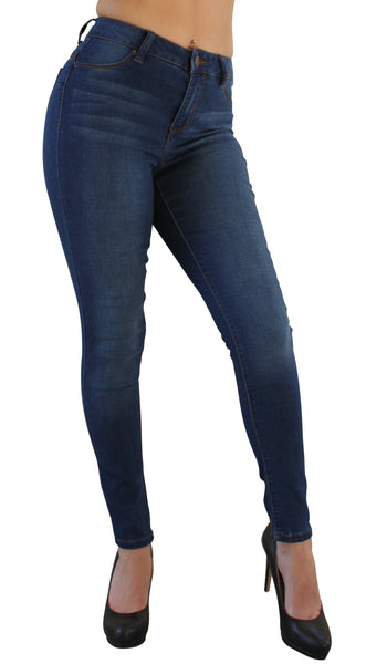 DP9856 Ci Sono Basic Sculpting Denim Jeans - FashionPosh