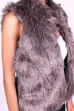 DV569 Chic Faux Fur Vest (More color options) - FashionPosh