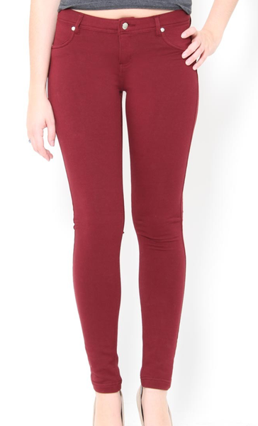 P1852 Ci Sono Skinny Leg Jean Leggings (More color options) - FashionPosh