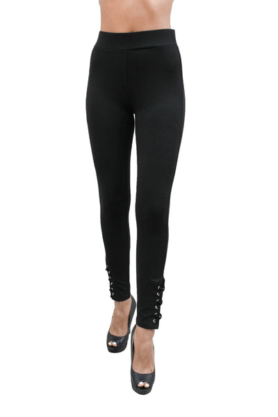 PP117 Ci Sono Ponte Leggings W/Ankle Design