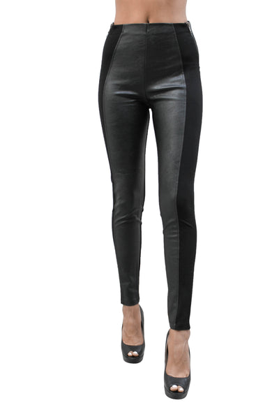 PP90 Ci Sono Ponte Leather Leggings