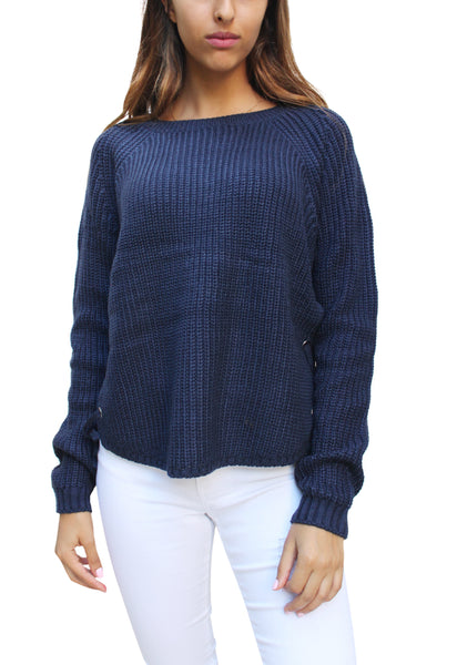 SW26231 Side Lace up Sweater (More Color Options)