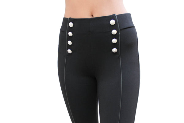 PP163 Sailor High Waist Leggings