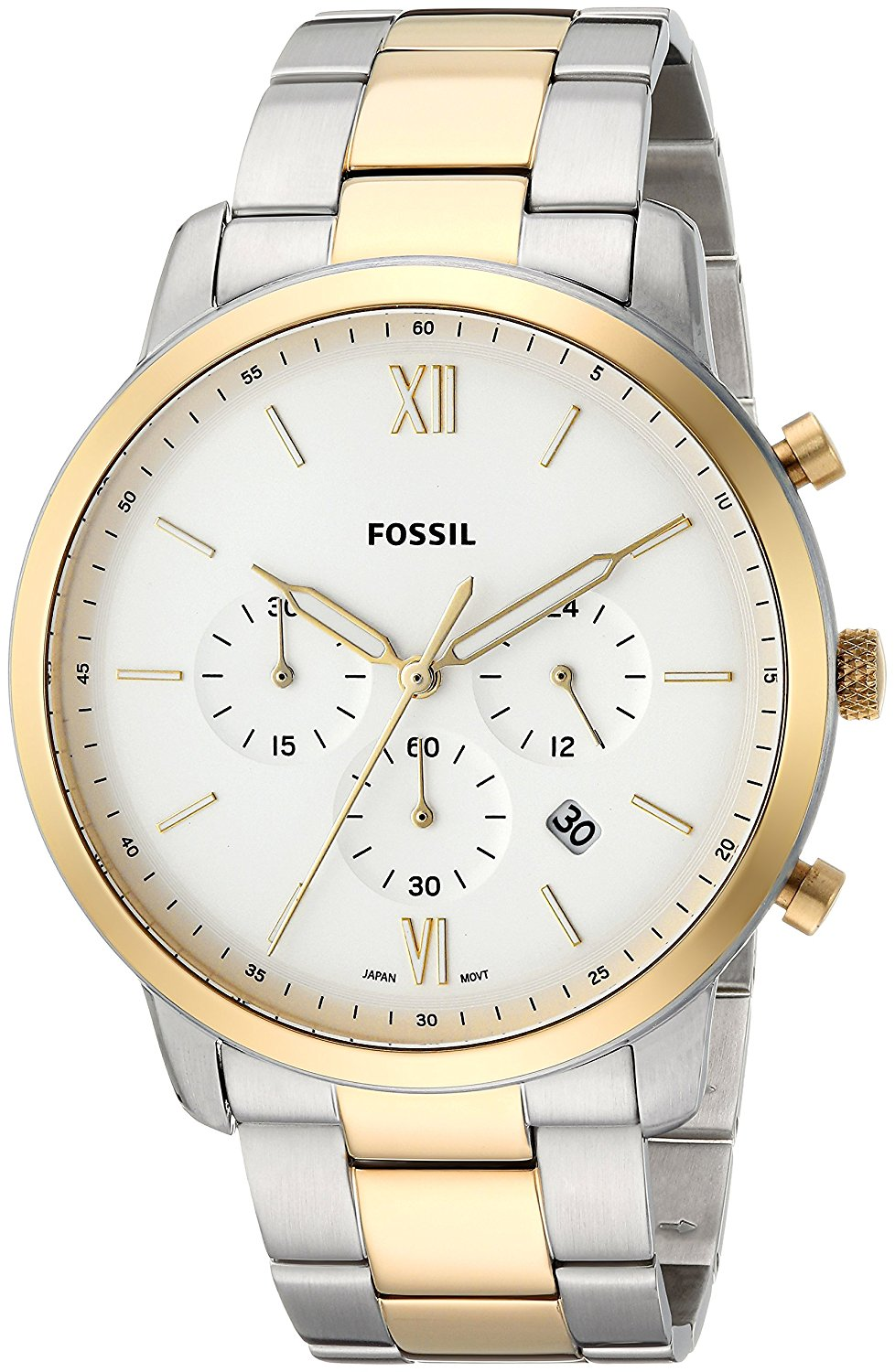 Fossil Men's Two-Tone Chronograph Watch