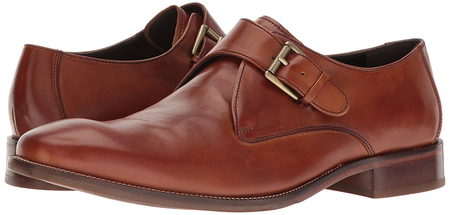 Cole Haan Men's Williams II Monk-Strap Loafer