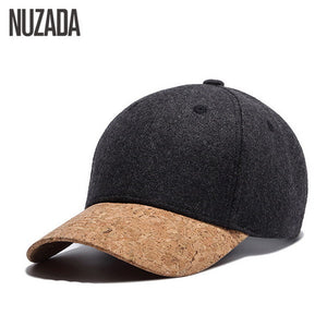 Brand NUZADA High Quality Snapback Wool 54% Women Men Baseball Cap