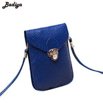 Fluorescence Colors Women Mobile Phone Bags