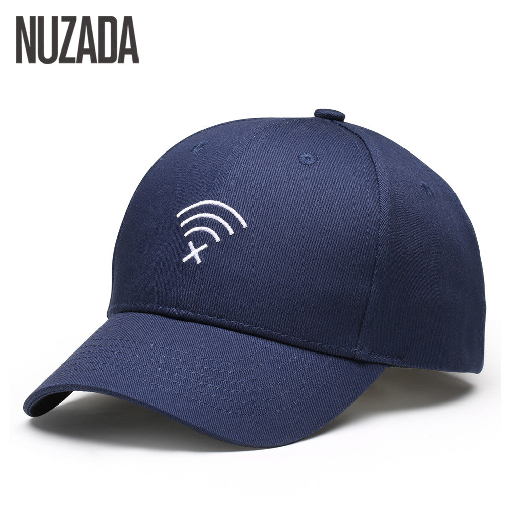Brand NUZADA Solid Color Men Women Couple Baseball Cap Bone Cotton
