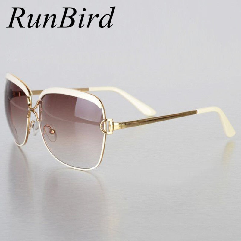 RunBird Fashion Sunglasses Women D Frame Popular Luxury Brand Designer Shades Sun Glasses