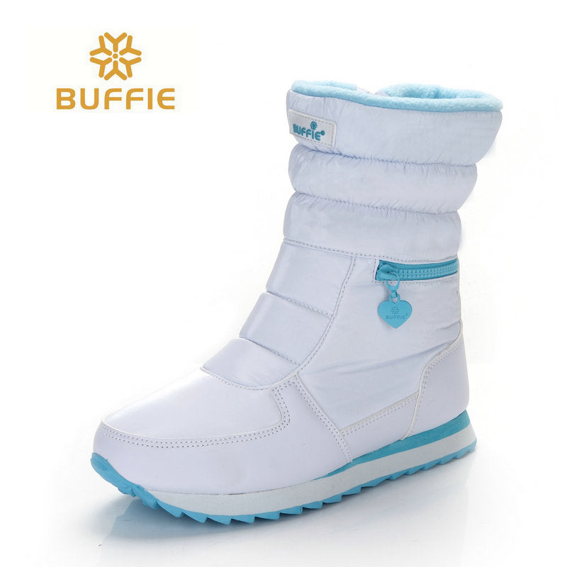 White winter boots women fashion snow boots new style 2018 boots