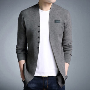 MIACAWOR New Sweater Men Autumn/Winter Casual Sweater High Quality