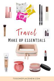 Must Have Travel Makeup List