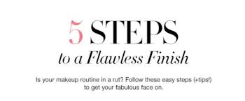 Five-Step Easy Morning Makeup Routine