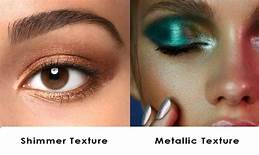 What's the Difference Between Matte, Metallic and Shimmer Eyeshadow Colors?