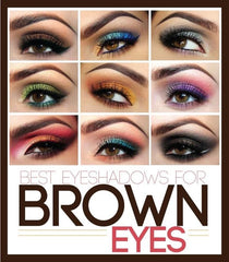 eyeshadow colors for brown eyes