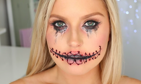 halloween top makeup looks