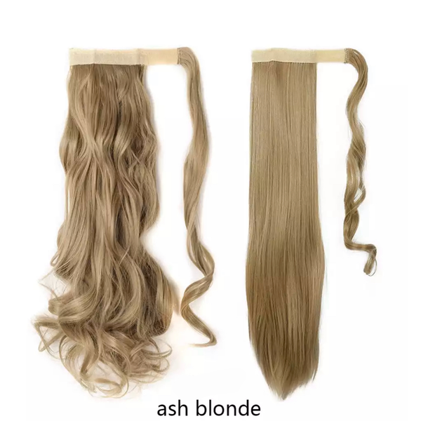 Ash Blonde Ponytail Hair Extension - lexinoelbeauty.com