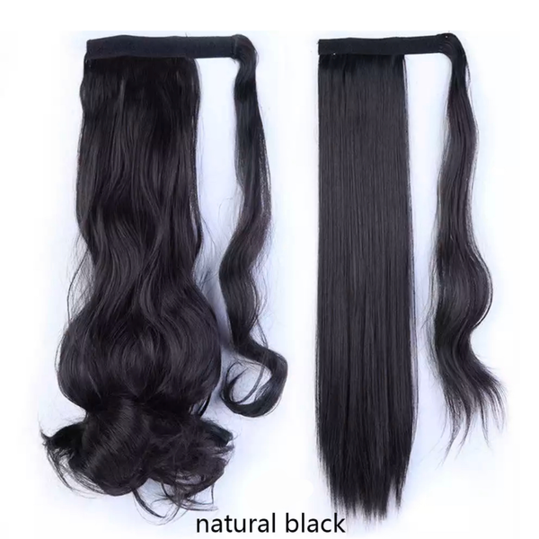 Black Ponytail Hair Extension - lexinoelbeauty.com
