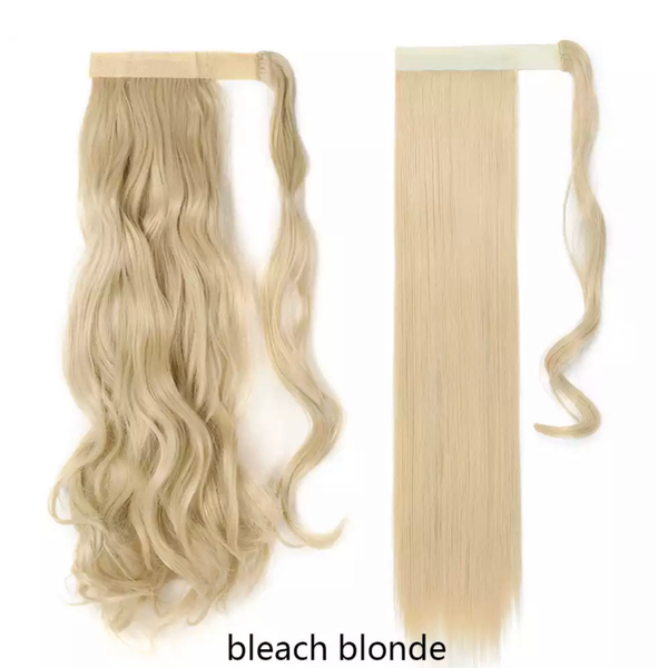 Bleach Blonde Ponytail Hair Extension - lexinoelbeauty.com