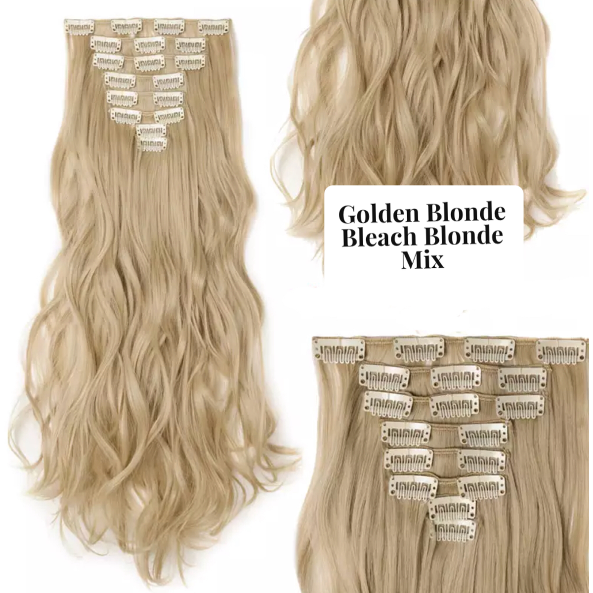 Curly Wavy Hair Extensions Lexi Noel Beauty Multiple Colors 24 inches - lexinoelbeauty.com