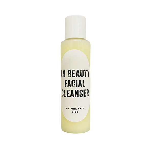 Mature Skin Face Wash Cleanser Rose Water LN Beauty