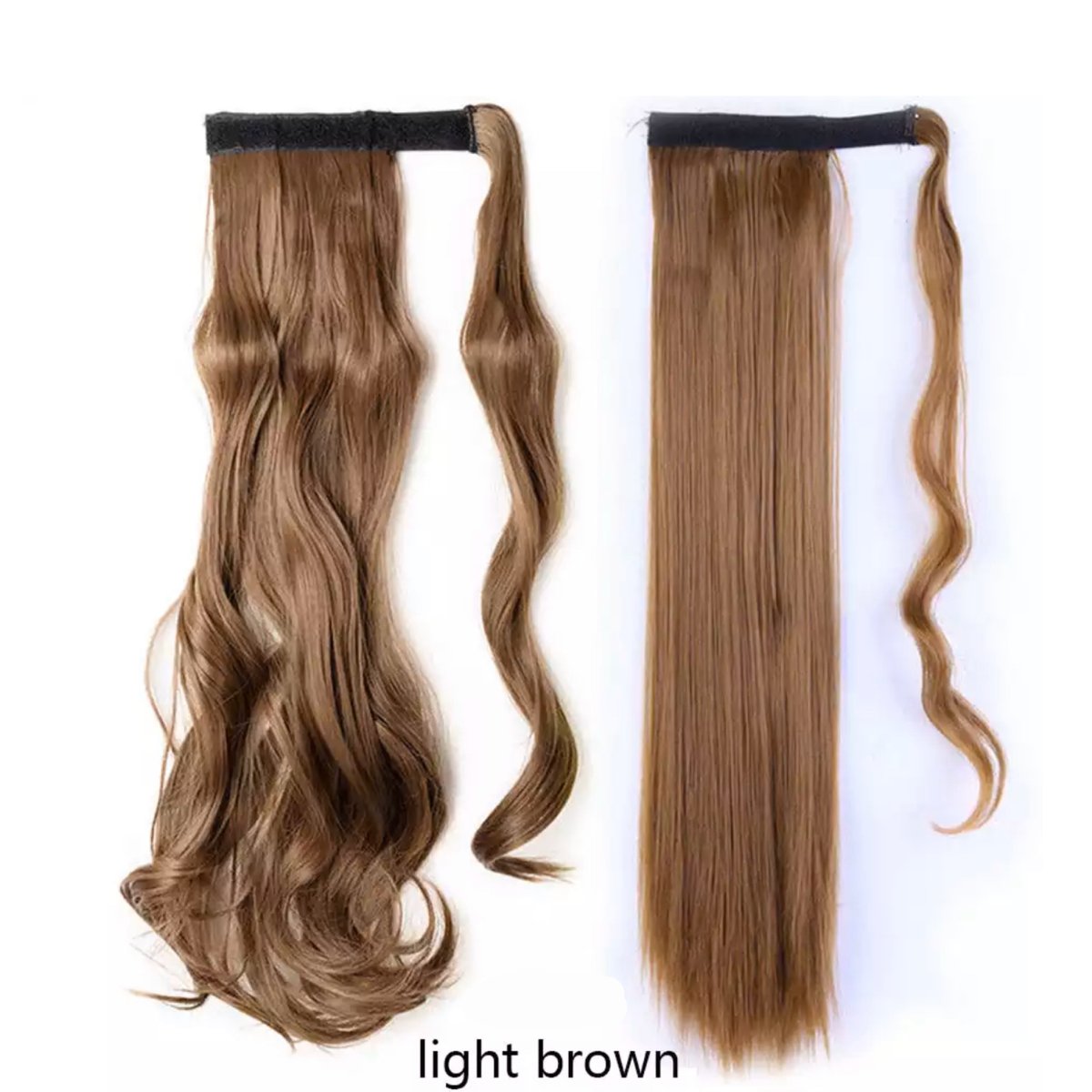 Light Brown Ponytail Hair Extension - lexinoelbeauty.com