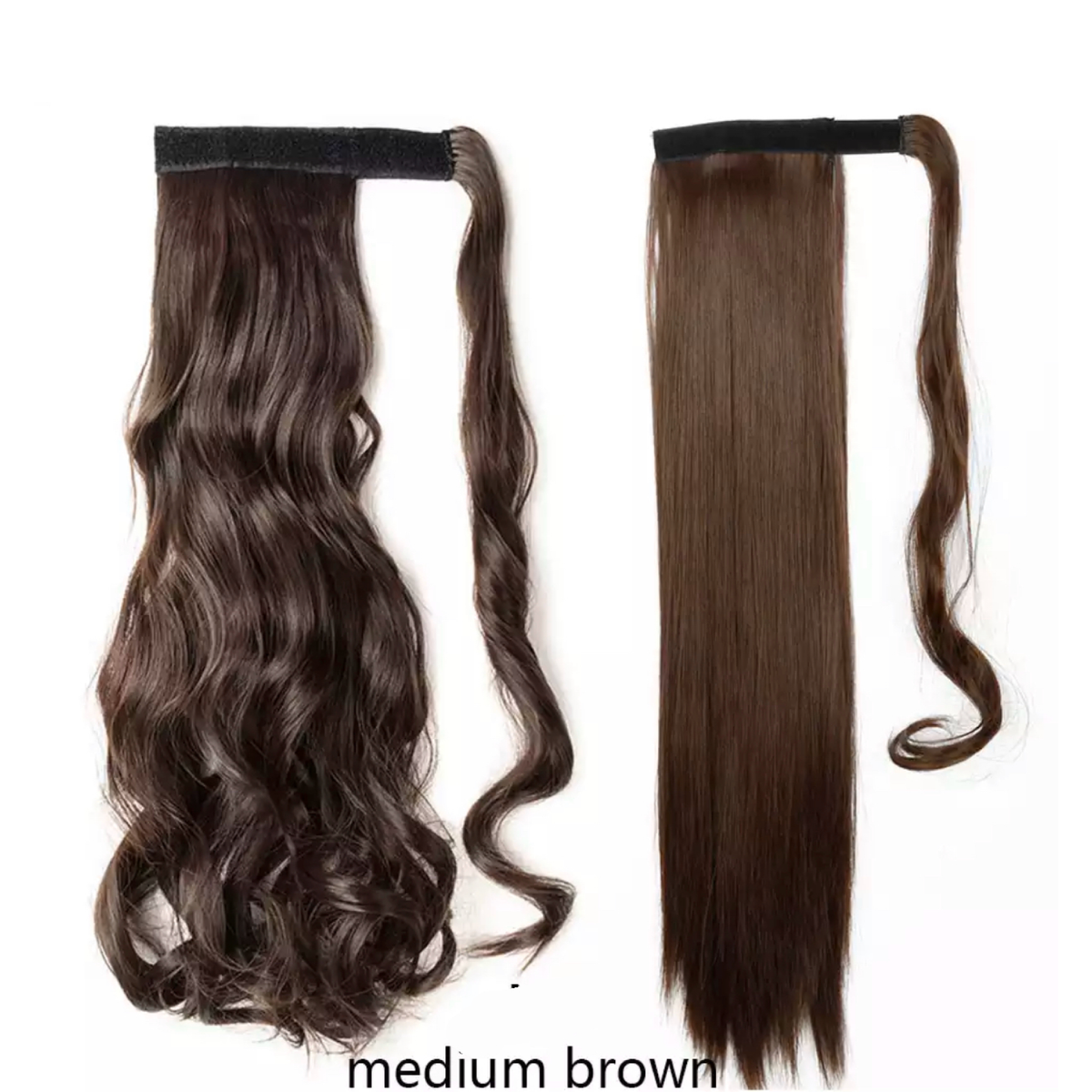 Medium Brown Ponytail Hair Extension - lexinoelbeauty.com