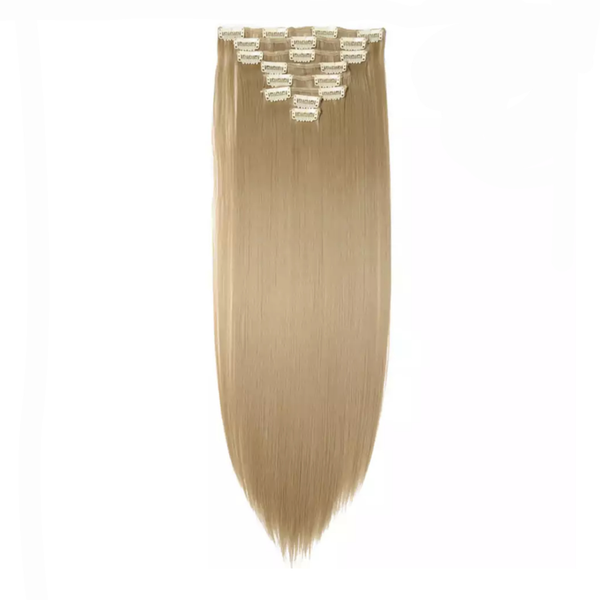 Clip In Hair Extensions Ash Blonde Lexi Noel Beauty - lexinoelbeauty.com